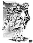 Battletech - Thunderhound Heavy OmniMech