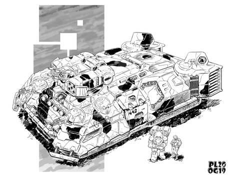 Battletech - Eris Hover APC