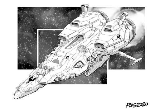 Battletech - Gearing Class Destroyer