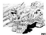 Battletech - Manul OmniMech.
