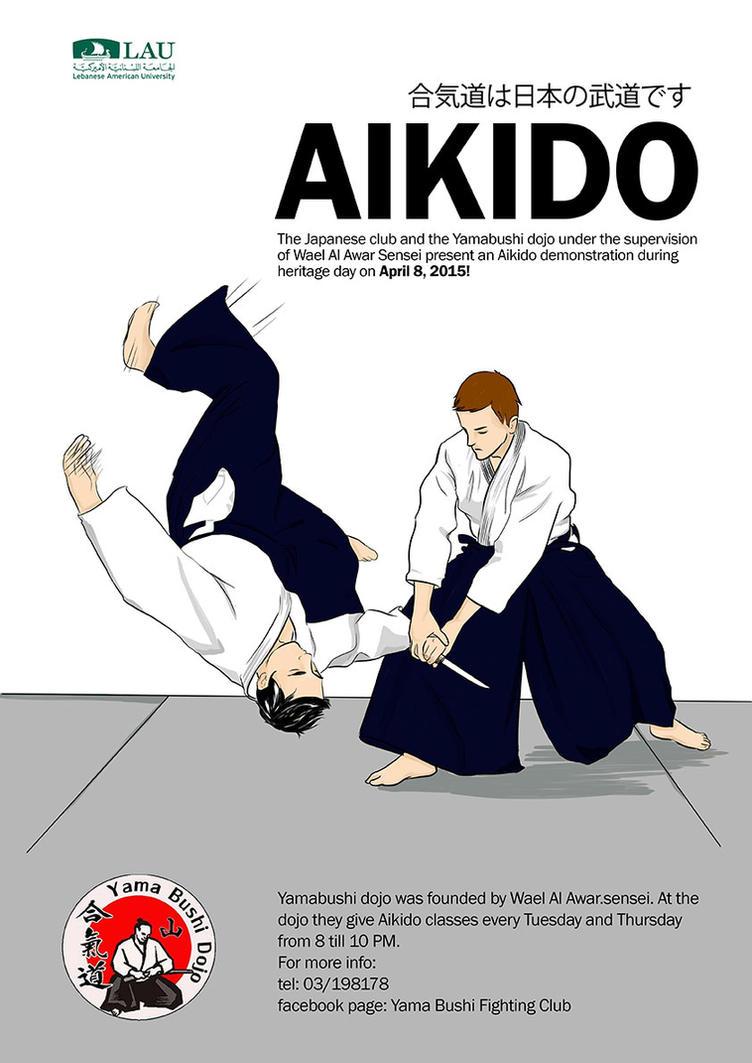 Aikido Poster by FanOfSherlock
