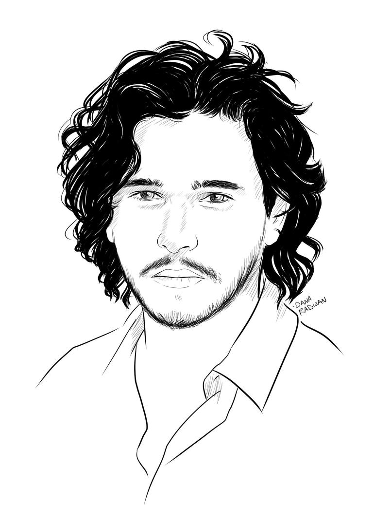 Jon Snow by FanOfSherlock