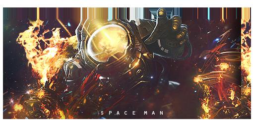 Spaceman by Nowaart