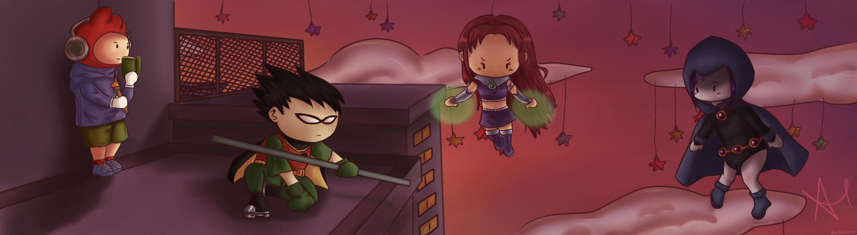 Teen Titans.... by AriClaus