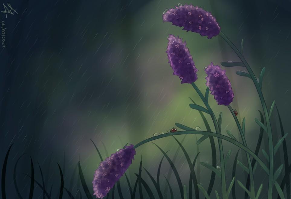 Rain by AriClaus