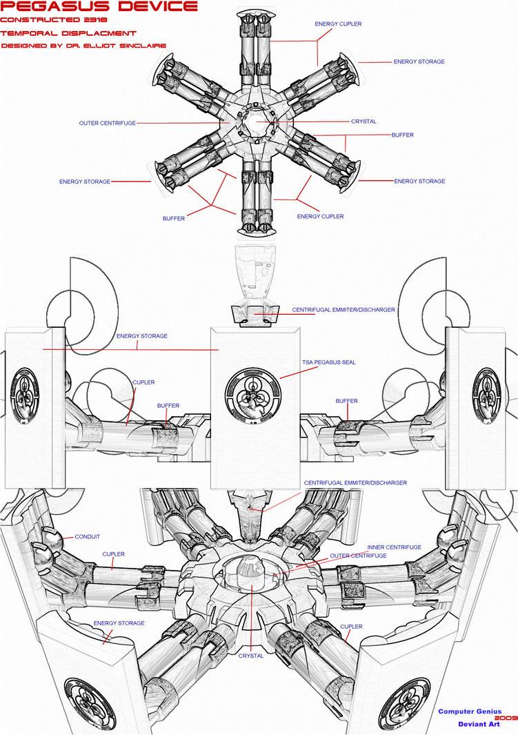 pegasus device schematics by computergenius on deviantart