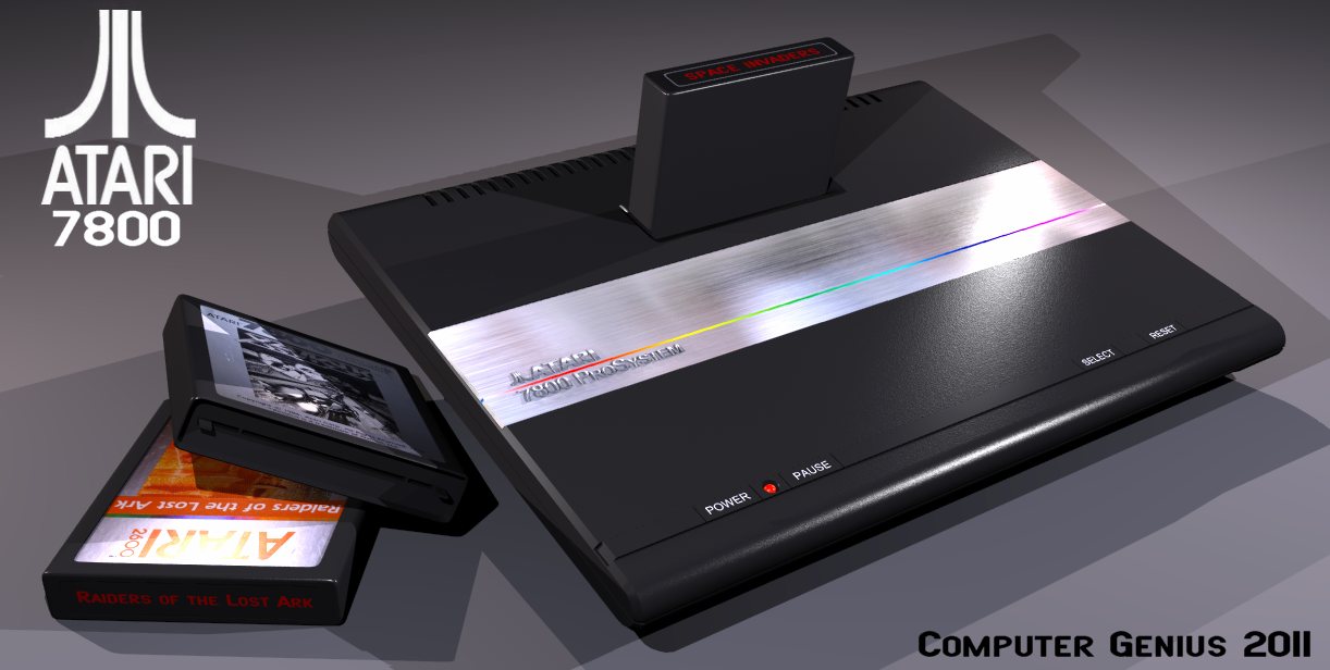 ATARI 7800 ProSystem by ComputerGenius on DeviantArt