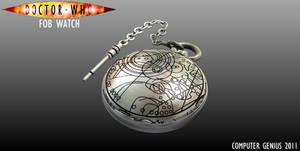 Doctor Who Fob Watch-Closed