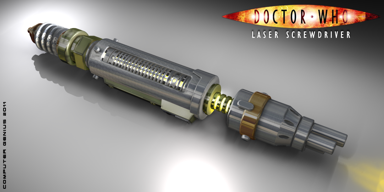 Laser Screwdriver by ComputerGenius