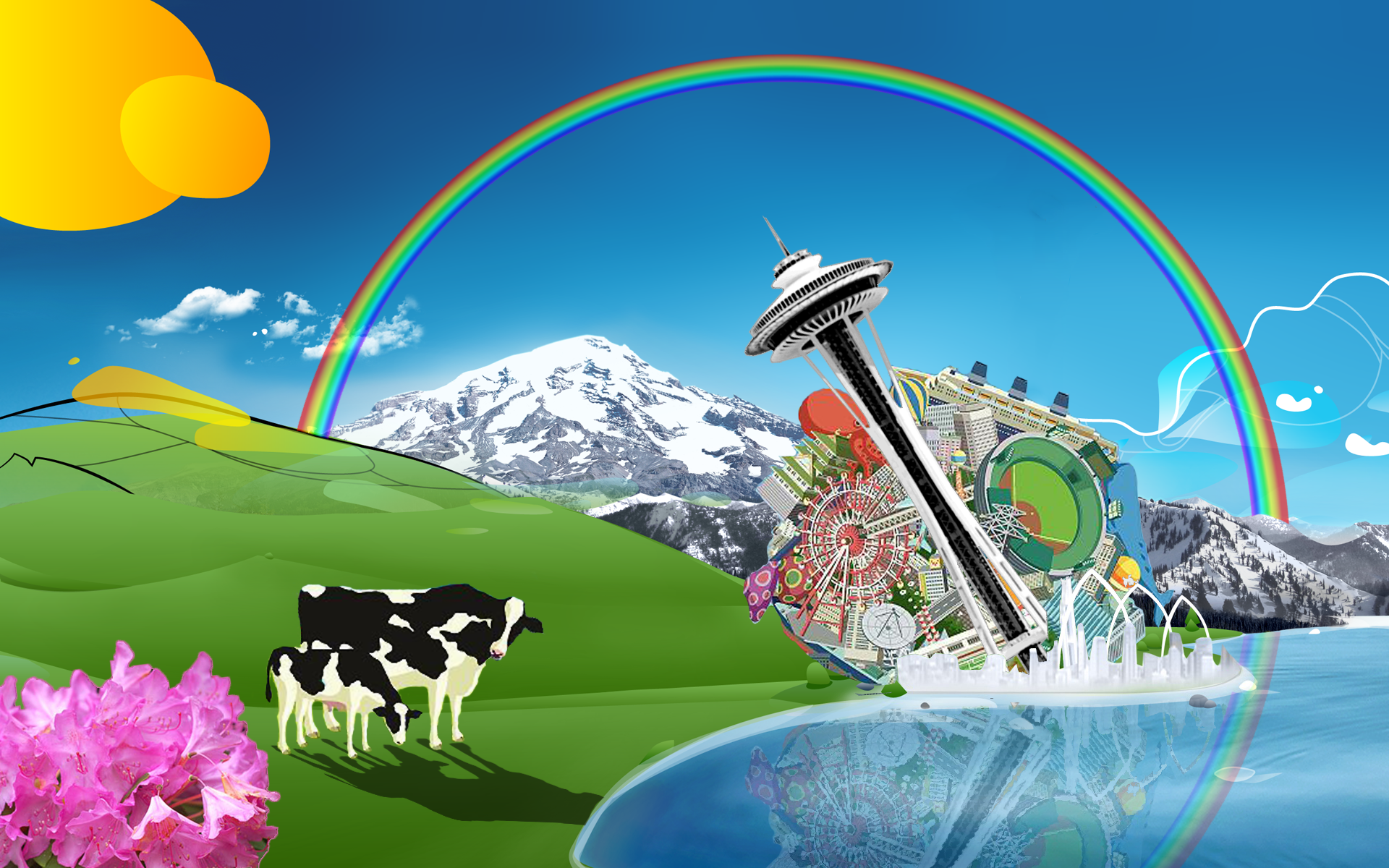 Katamari Windows 8 Lock Screen By ComputerGenius