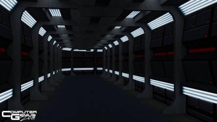 Excelsior Corridor by ComputerGenius