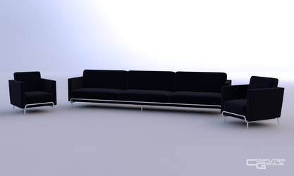 Chair and Couch by ComputerGenius