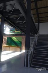 Pixar Studio Lobby - Stairs by ComputerGenius