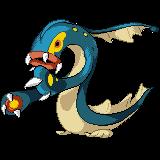 Pokemon Amethyst- Eelektross (Pre-QC) by Falgaia