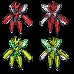 Mega Scizor (QC) [+Shiny]