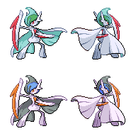 Mega Gallade (+Shiny) by Falgaia