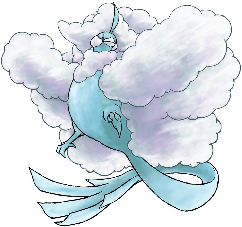 Altaria V2 By Falgaia On Deviantart