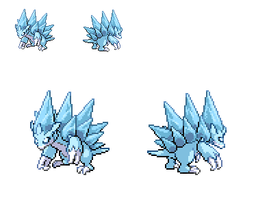 Alolan Sandslash by Falgaia