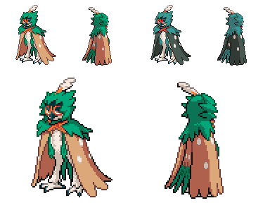Decidueye QC (leParagon edit) by Falgaia