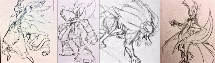 Sketchtember Cultists Batch 1