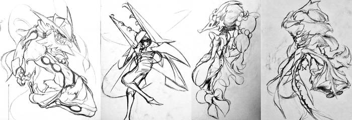 Sketchtember Cultists Batch 5