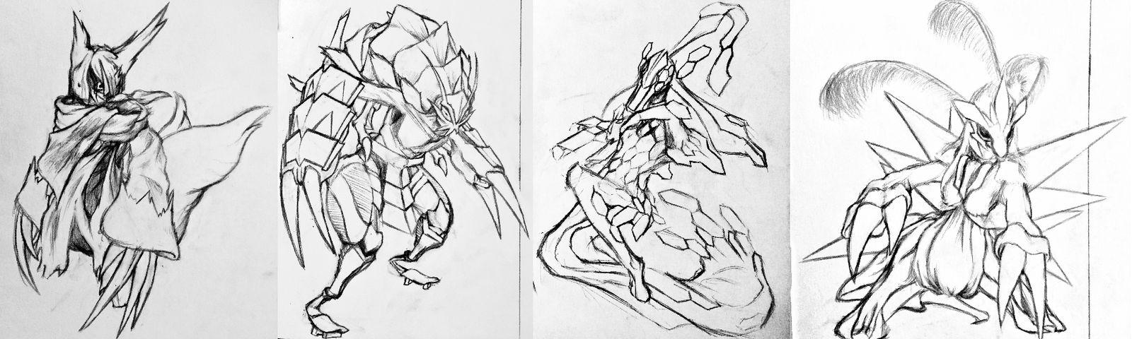 Sketchtember Cultists Batch 6 by Falgaia