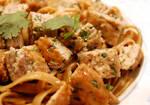 Asian Turkey Burgers + Noodles