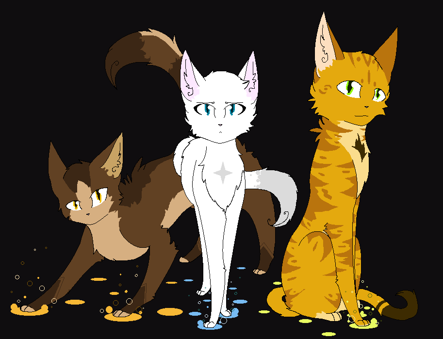 Warrior cats ocs the chosen three by navycat260 on The three cats