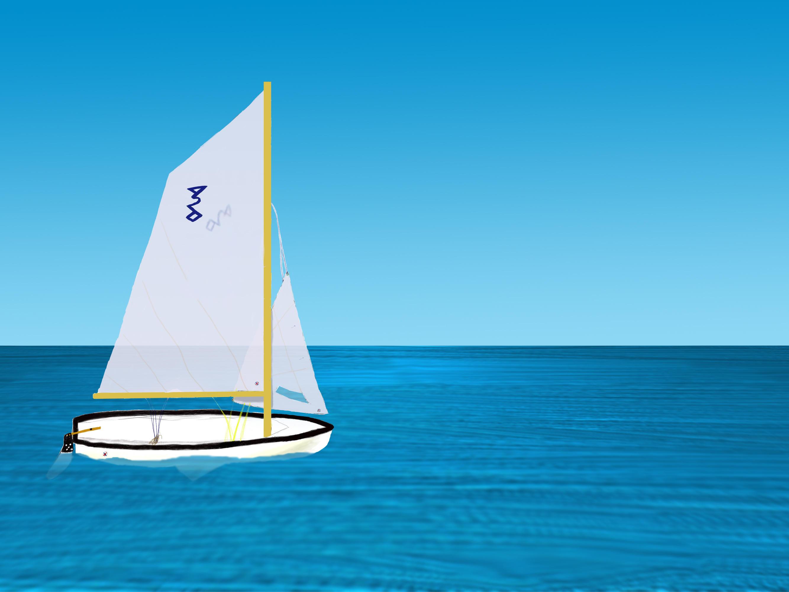 океан лодка фото