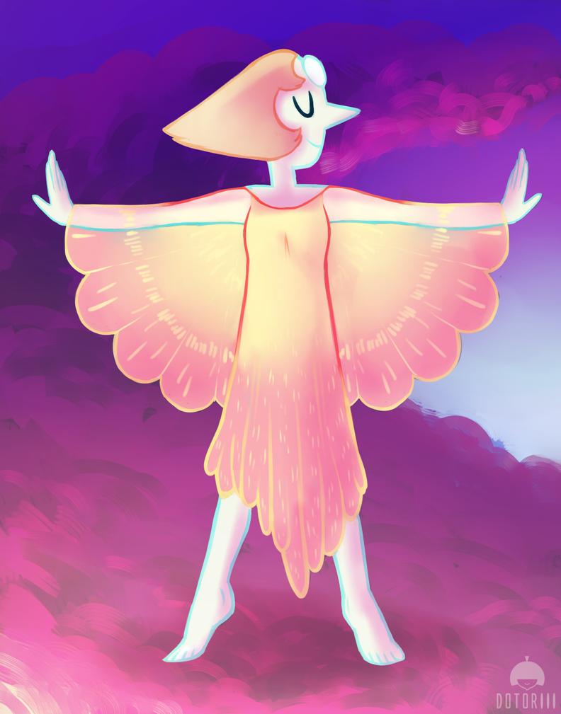 Petal Dress Pearl by Dotoriii