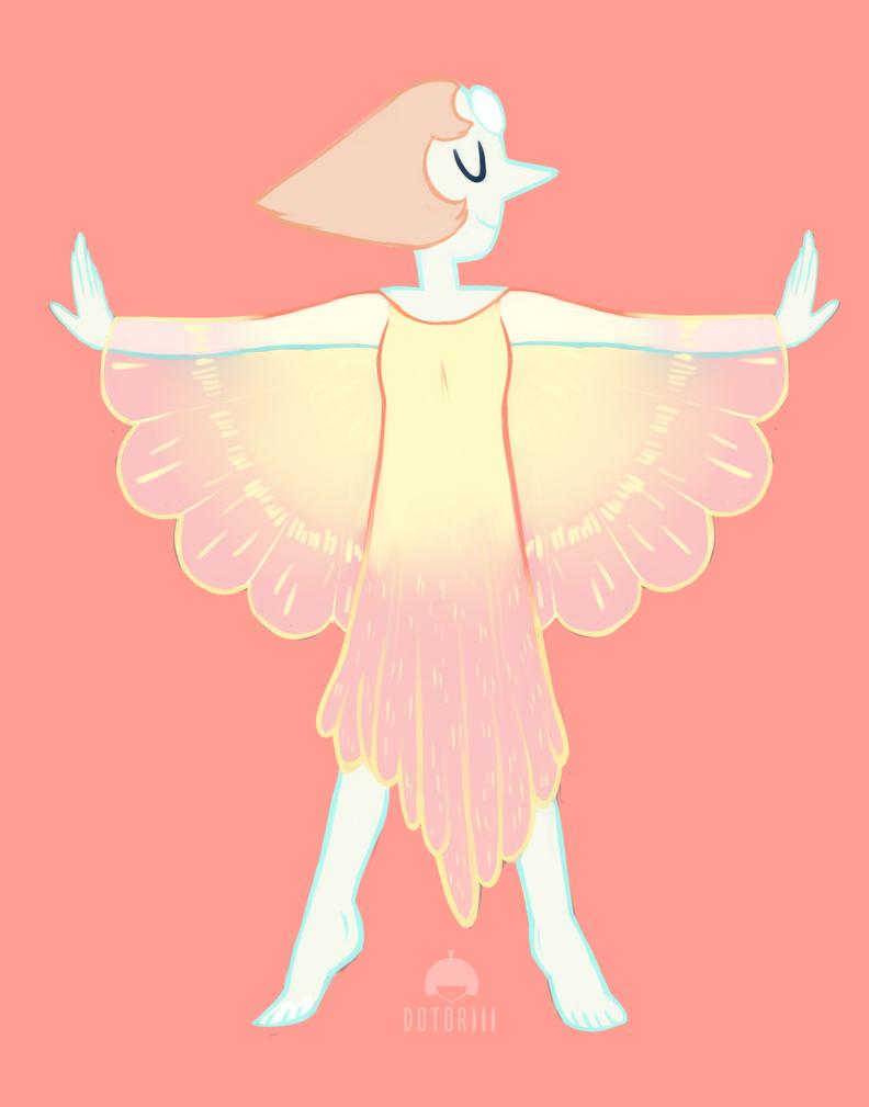 Petal Dress Pearl v2 by Dotoriii