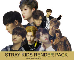 STRAY KIDS RENDER PACK by ThuHuong057