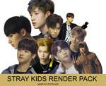 STRAY KIDS RENDER PACK