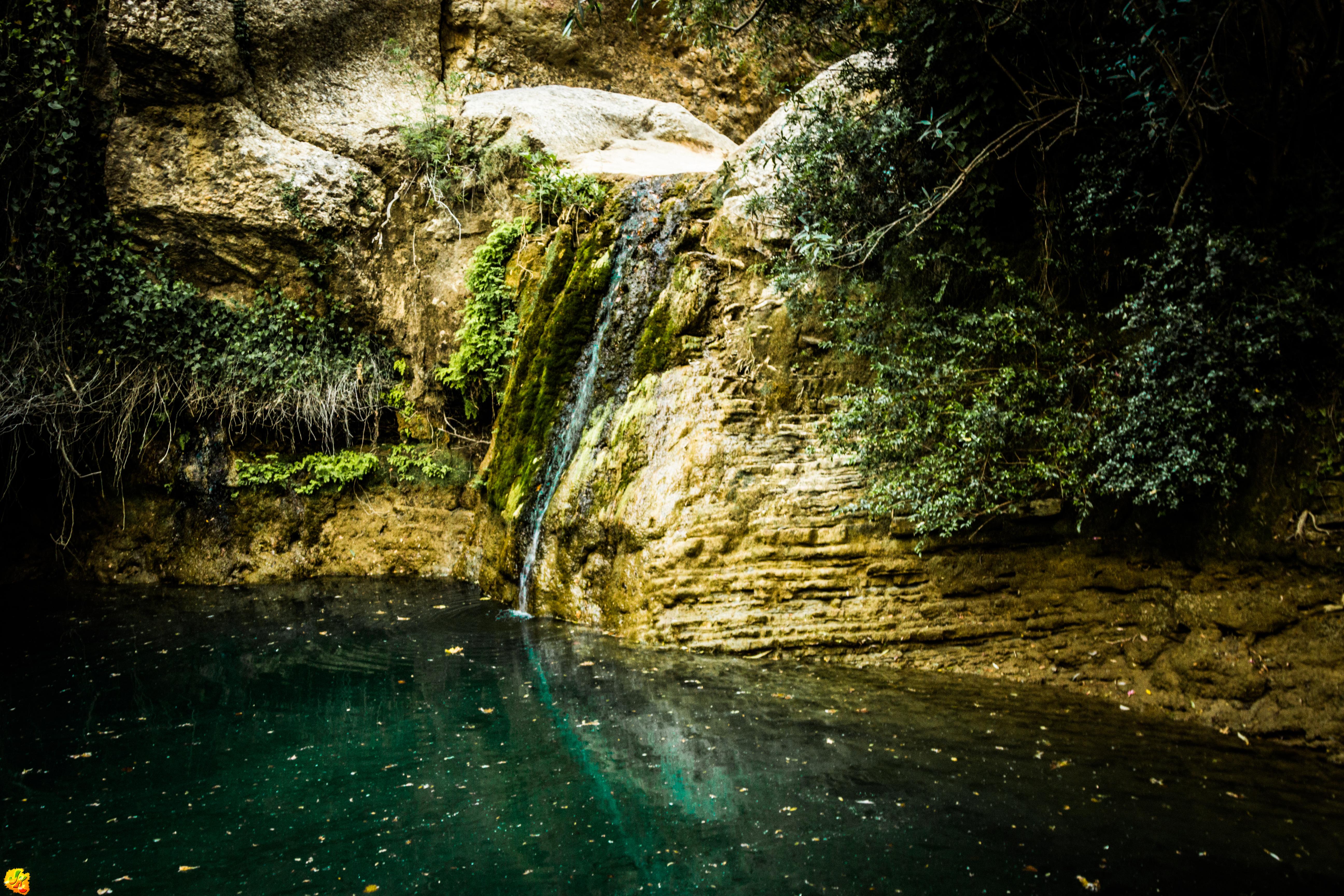 Turned Down Waterfall by JapeKing