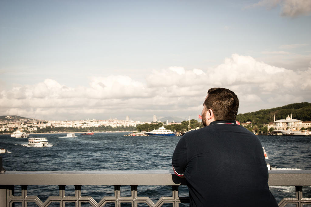 Gazing Bosphorus by JapeKing