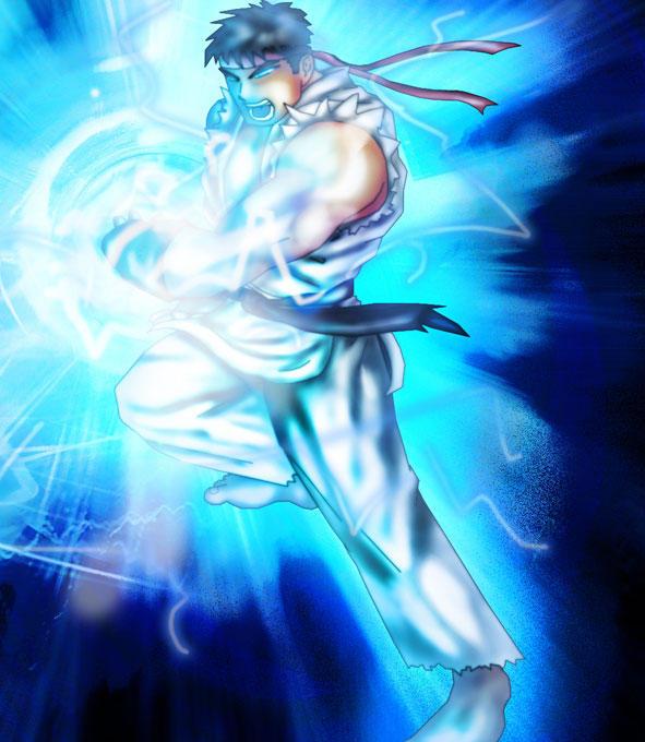 Ryu's Shoryuken by XPuertoVRicanX