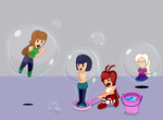 Bubbles for everybody!