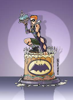 a cake for batman