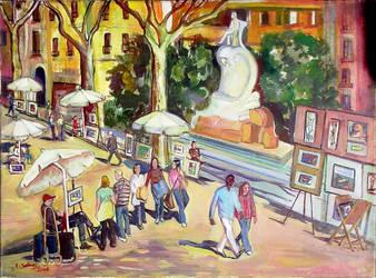 Rambla dels artistes by CarmenSelves