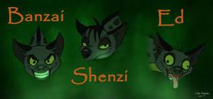 Shenzi, Banzai, and Ed