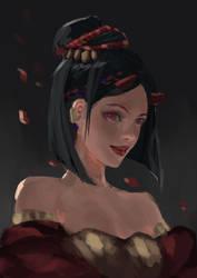 Red Demon by chryssv