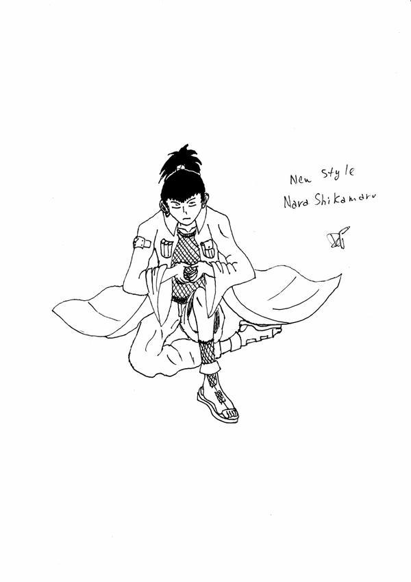 New Nara Shikamaru's Style by FallenInTheDark