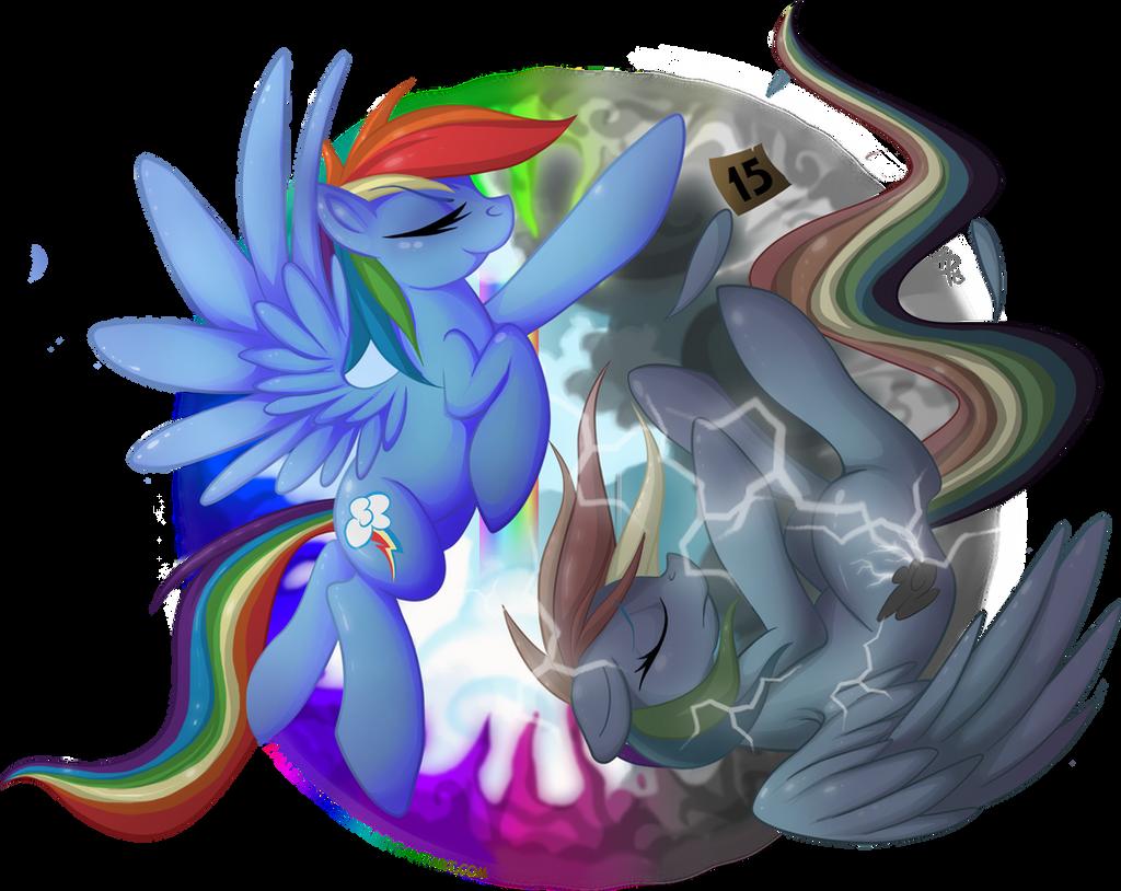 Rainbow Dash - Messenger of Loyalty by FallenInTheDark on ...