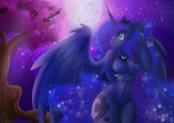 Incantevole Luna by FallenInTheDark