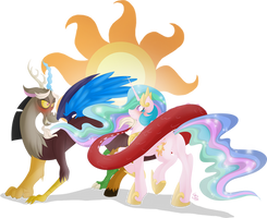 Chaos and Harmony by FallenInTheDark