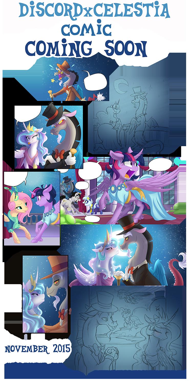 Discord x Celestia Comic Coming Soon! by FallenInTheDark