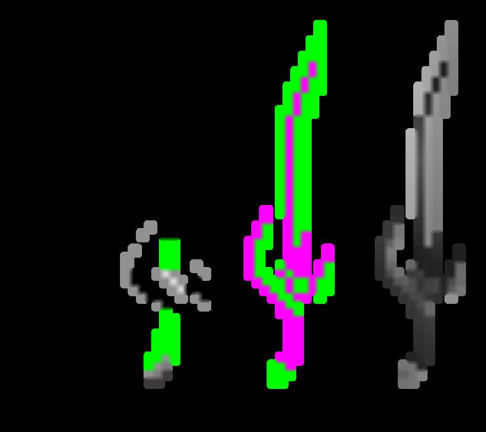 .:CM:. Dark15Shooter Sword by RavTheHedgehog