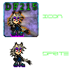.:AT:. Darkflow215 Icon + Sprite by RavTheHedgehog