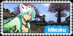 Miroku Stamp [Onigiri] by RavTheHedgehog