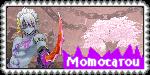 Momotarou Stamp [Onigiri] by RavTheHedgehog